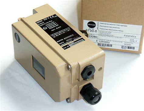 Electropneumatic Positioner eutc co ltd 3730 1 3461