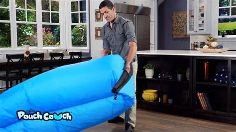 pouch couch how to inflate your pouch couch how to video youtube