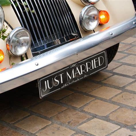 Just Married Deko F Rs Auto by Mit Dieser Deko Wird Euer Hochzeitsauto Ein Hingucker