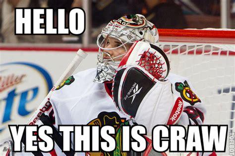 Blackhawks Meme - hockey laughs the pink puck