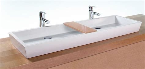 trough two faucets genius options for small bathrooms pinterest