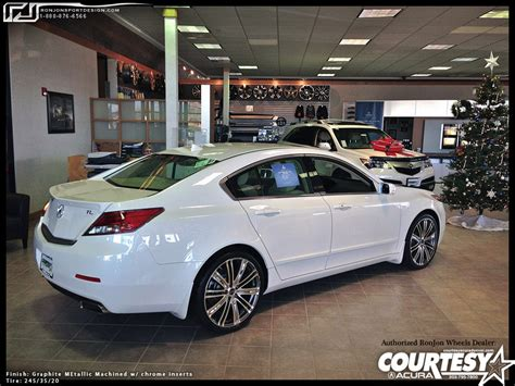 2009 acura tl with black roof wrap ronjon 4g tl wheels gallery update 3 29 13 acurazine