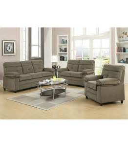 discount living room set 2 pc living room set by alicia collection us furniture