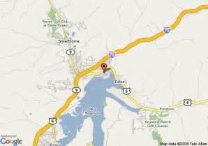 map of resortquest lake dillon properties dillon