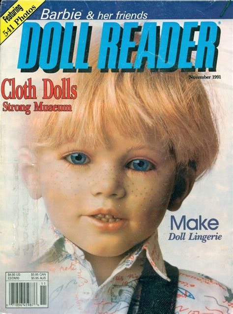 the doll reader doll reader magazine 11 91 cloth dolls