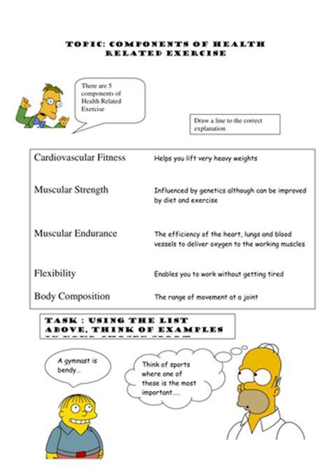 Pe Worksheets by Gcse Pe Edexcel Worksheets By Conor123 Teaching
