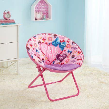 plush saucer chair nickelodeon jojo siwa plush pink saucer chair