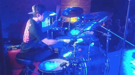 intricated represent existence live at bangcock deathfest 2016 drum