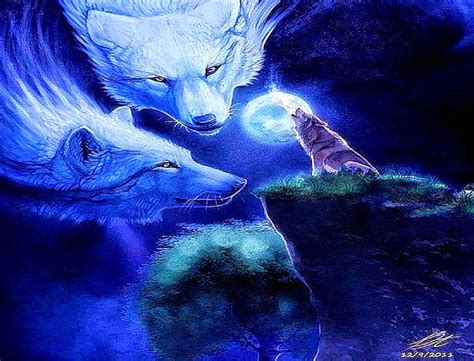 wallpaper abstract wolf moon wolves abstract wallpaper background wallpaper gallery
