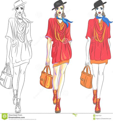 design fashion model the gallery for gt fashion design sketch model templates