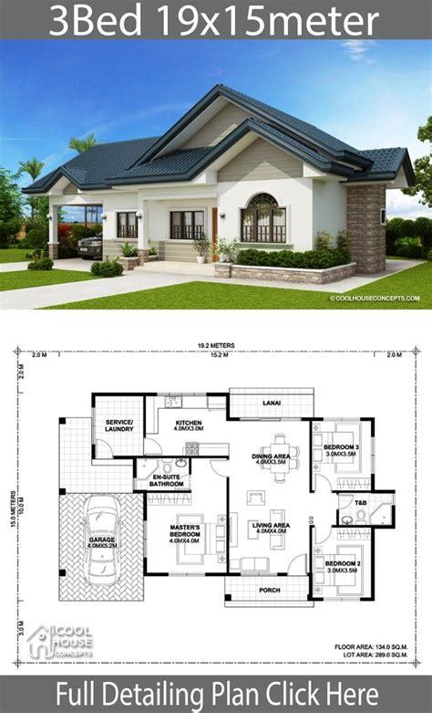 home design plan xm   bedrooms bungalow house
