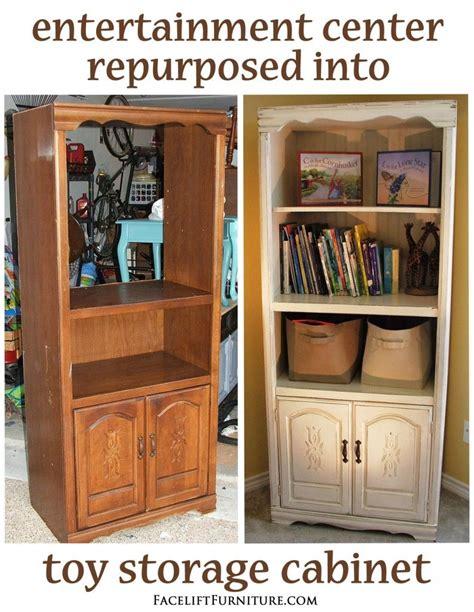 repurposed furniture ideas tv cabinet entertainment center repurposed into cabinet