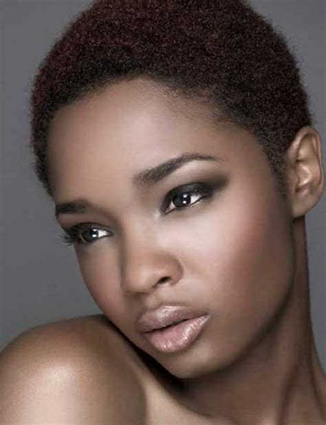 mini afro for women 15 curly short hairstyles for black women short