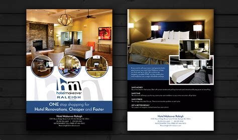 design flyer hotel professional upmarket flyer design for john tan by esolz