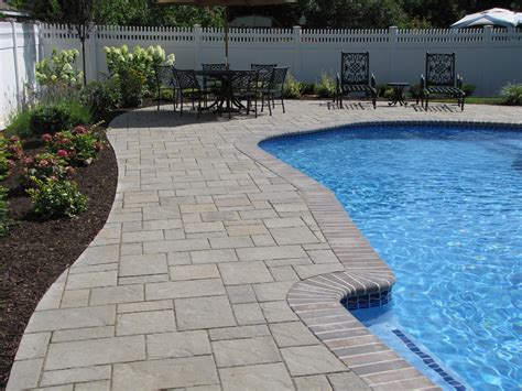 Pool Patio Pavers Brick Patio Pavers Installation Companies In Nj