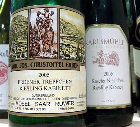 kabinett kã che goode s wine riesling kabinett two compared