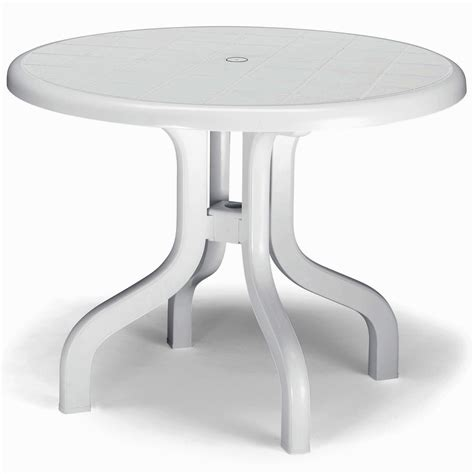 White Resin Patio Table Houseofaura White Plastic Patio Table Kettler 46 Inch White Plastic Resin Patio Table Shop