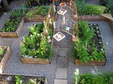 Layout Of Kitchen Garden Fancy Small Kitchen Garden Design Ideas