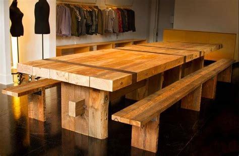 come costruire un tavolo allungabile il tavolo in legno tavoli tavoli in legno soluzioni