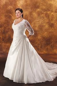 wedding dresses with sleeves plus size plus size wedding gowns with sleeves enter your