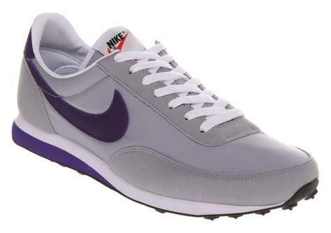 nike elite sneakers mens nike elite wolf grey purpl trainers shoes ebay