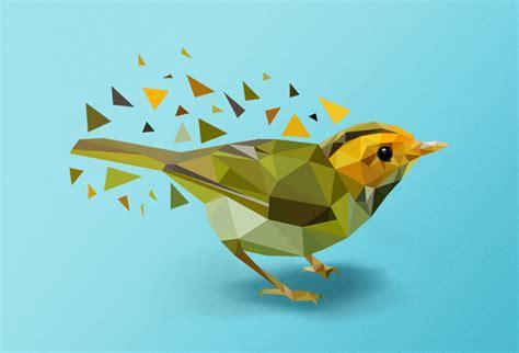 tutorial illustrator bird create geometrical vector bird in adobe illustrator