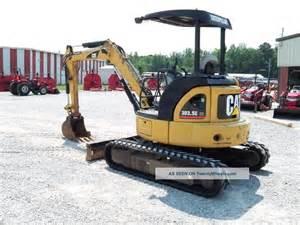2007 caterpillar 303 5ccr cat mini excavator loader