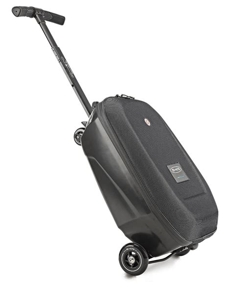 Micro Lazy Luggage Black micro scooter luggage micro mobility