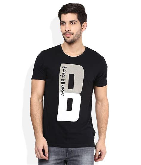 Tshirt Black Printed Dsvn being human black printed neck t shirt buy being human black printed neck t shirt