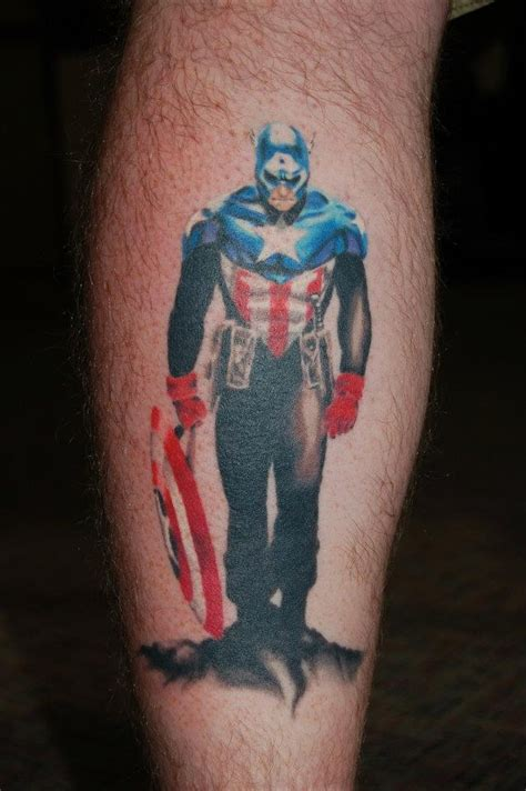 level up tattoo level up studio captain america tattoos i like