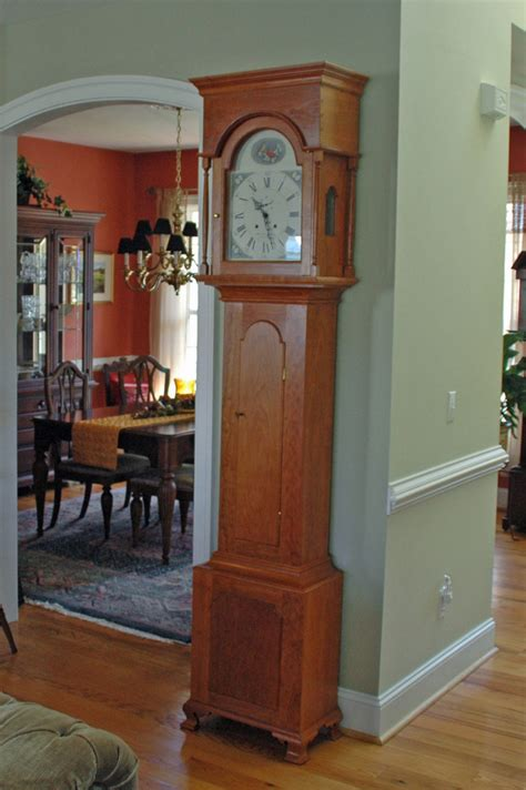 pennsylvania tall case clock finewoodworking