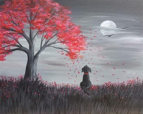 paint nite calgary march 22 paint nite autumn daze