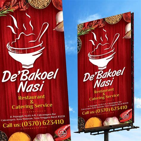 contoh desain banner makan jasa desain grafis