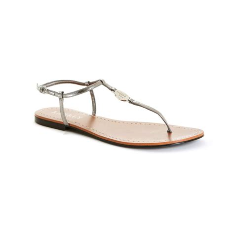 ralph flat shoes by ralph aimon flat sandals in silver lyst