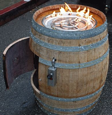 Whiskey Barrel Fire Pit Tapiture Outside Pinterest Whiskey Barrel Pit