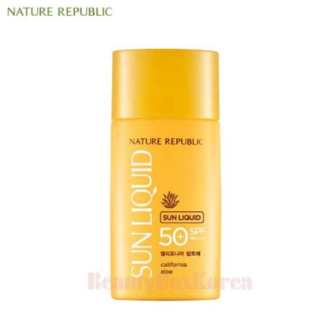 Harga Nature Republic Sunblock Spf 50 box korea nature republic california aloe sun