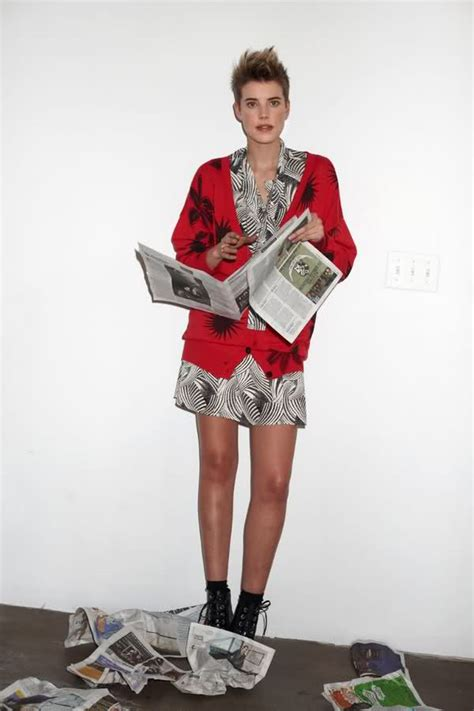 Designers And Models Get For Henry Agyness Deyn And Roberto Cavalli by The Chemistry Closet Agyness Deyn