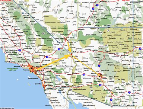 map southern california map of southern california cities swimnova