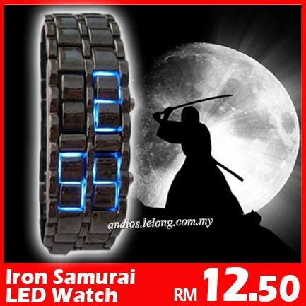 Jam Tangan Iron Samurai Led Biru lw01 iron samurai japan led ja end 6 1 2017 12 00 am