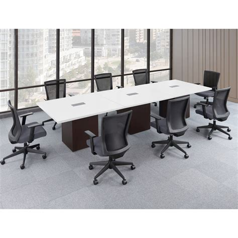 White Conference Table Laminate Conference Tables