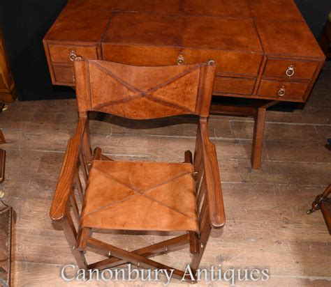 office desk and chair set leather caign desk and chair set writing table luggage