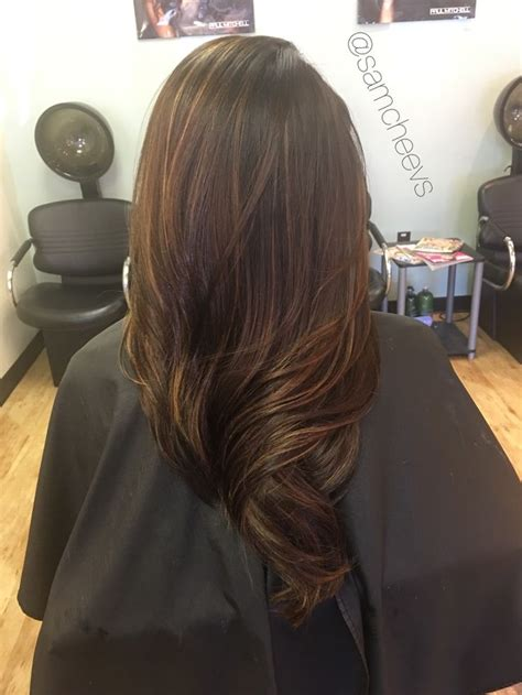 black hair with colored highlights 616 best images about hair on black hair types