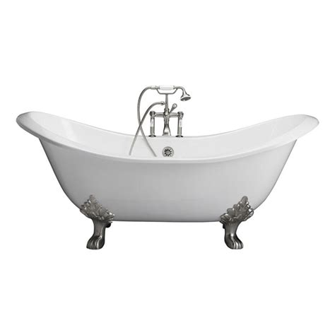 barclay products cast iron slipper tub