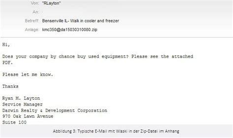 deutsche bank e mail adresse waski verbreitet banking trojaner auch deutsche nutzer