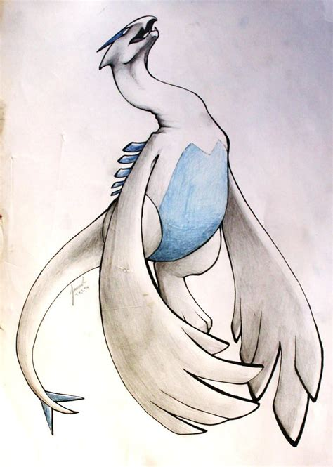 lugia tattoo commission 2 by kempping on deviantart