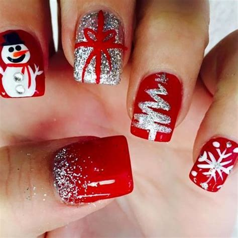 2018 christmas nails theme 25 unique gel nail designs ideas on gel nail winter nail designs and sparkle