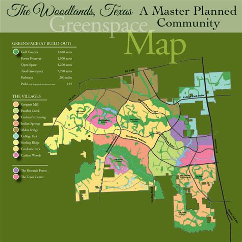 woodland texas map twine the woodlands texas