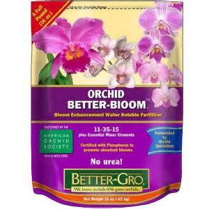 bett gro better gro 16 oz orchid better bloom booster plant food