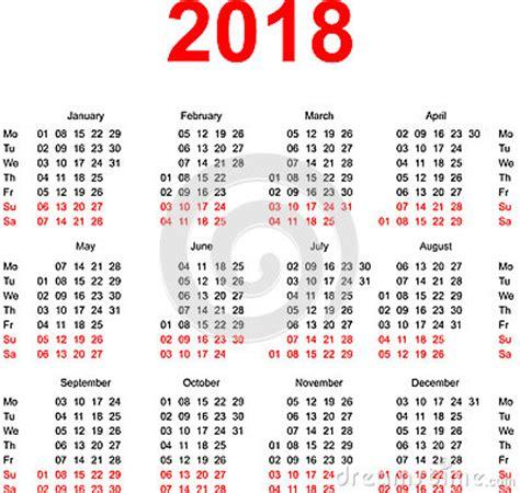 Almanacka år 2018 Kalender 2016 Veckor Calendar Template 2016