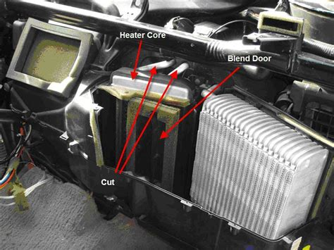 1998 ford f150 heater core diagram 2001 ford f150 heater core bypass